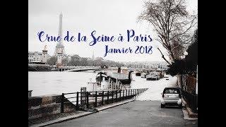 ปารีส น้ำท่วม! น้ำในแม่น้ำแซนเอ่อล้นตลิ่ง   Crue de la Seine à Paris   Inondations 2018
