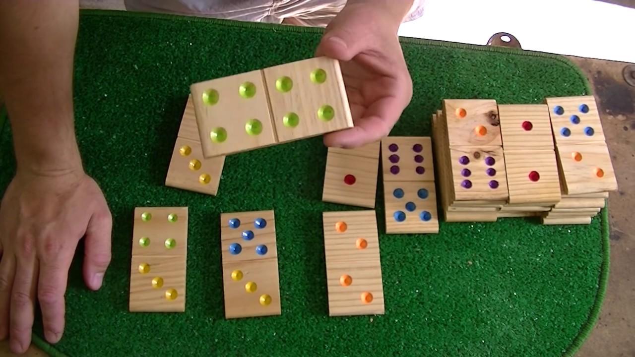 Como hacer un domino para ni os youtube for Para desarrollar un parque ajardinado