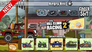 Angry Bill Team Event | Hill Climb Racing 2