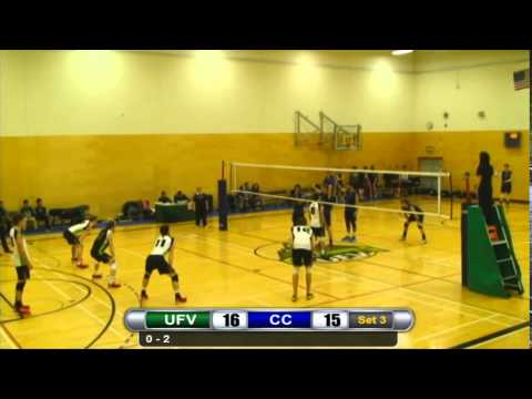 Camosun def UFV 3-0 November 28, 2014 Set 3