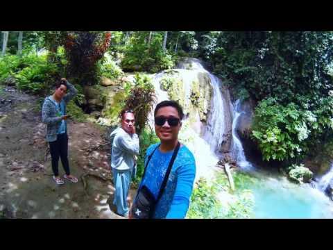 SJCAM M10 Basic Video Test : Kinahugan Falls and Lonoy Hidden Spring @Jagna, Bohol