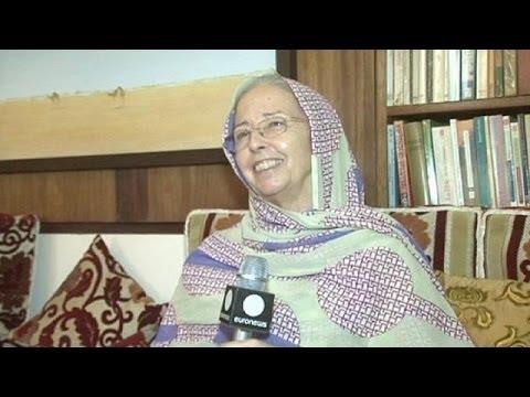 Nancy Jones and her Mauritanian camel milk - focus
