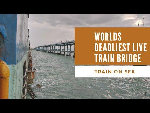 WORLDS DEADLIEST LIVE TRAIN BRIDGE 🔥🔥