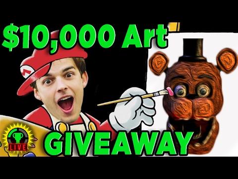 GTLive: Speed Art Challenge! | $10,000 Art Giveaway Featuring DAVID GARIBALDI - GTLive - Speed Art Challenge! Featuring DAVID GARIBALDI