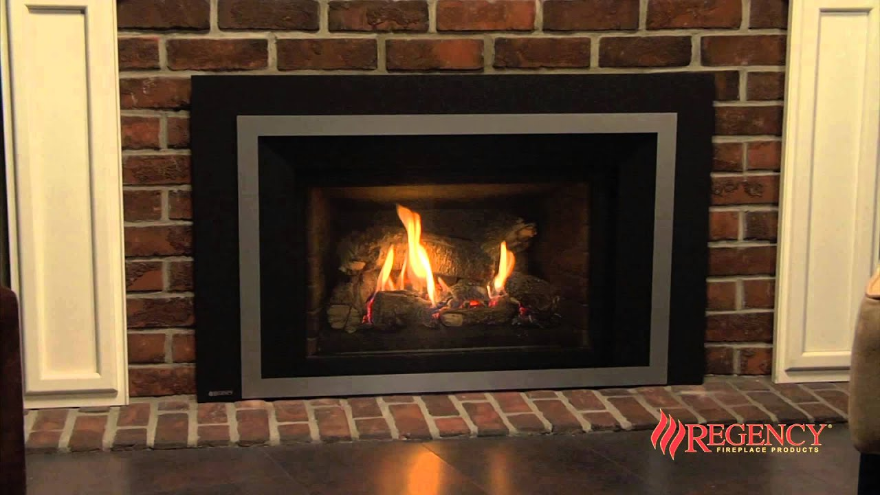 Regency Liberty Lri4e Medium Gas Insert Youtube