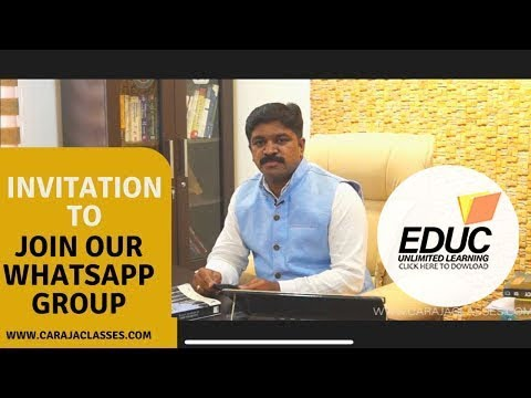 HAVE YOU INSTALLED EDUC APP | INVITATION TO JOIN WHATSAPP GROUP