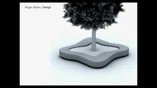 Roger Albero | Design - Crusoe Bench/planter (mago Urban, 2006) - Street Furniture Design