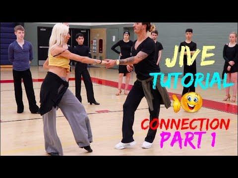 Gabriele Goffredo-Anna Matus | Jive basics | Connection | Ballroom latin technique - Part 1