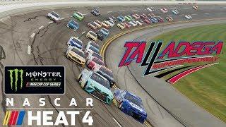 TALLADEGA   NASCAR Heat 4   Championship Season   Monster Energy NASCAR Cup Series   Race 10