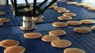 High Speed Pancake stacking with Flexpicker Robots