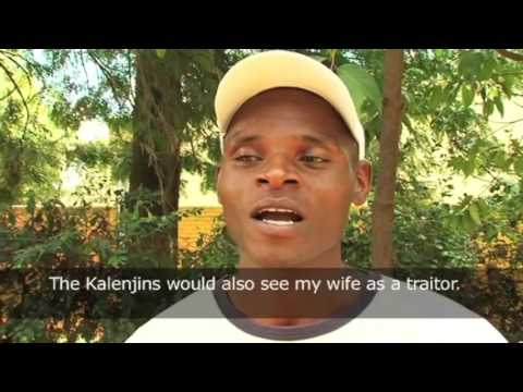 The birth of ABIATHAR HOUSE - Heal the Nation Kenya Post Election Violence Documentary