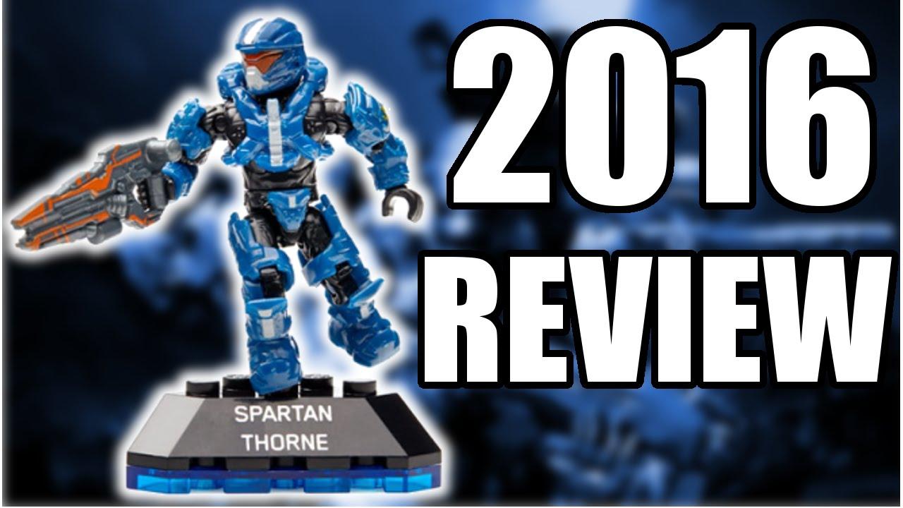 HALO MEGA BLOKS SPARTAN THORNE REVIEW 2016 (HD)!!!