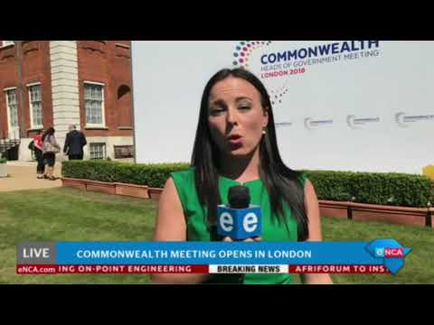 Commonwealth meeting opens in London