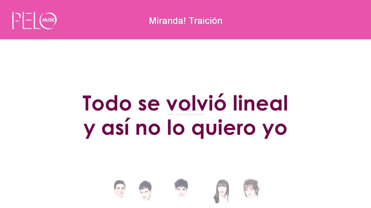Download Miranda! - Traición (Letra)