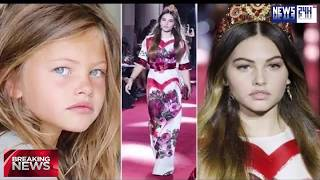 The 'most beautiful girl in the world', 16, walks the runway for D&G at Milan Fashion | Hot News 24h