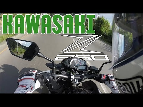 Kawasaki Z 250 Test Ride   Review   Español