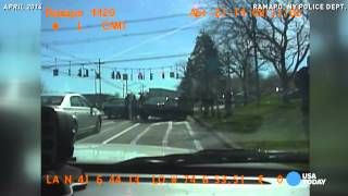 4 black officers held at gunpoint by police