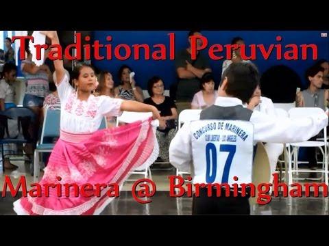 Traditional Peruvian Dance (Marinera) at Birmingham