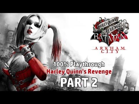 Batman: Arkham City - 100% Harley Quinn