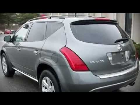 2006 nissan murano sl awd leather roof suv in south. Black Bedroom Furniture Sets. Home Design Ideas