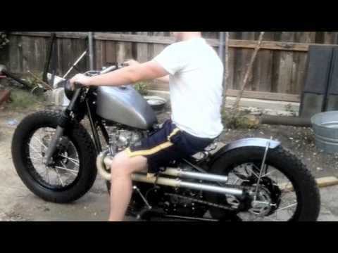 Yamaha XS650 Bobber | Hardtail Chopper Build