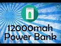How to make a power bank at home |12000 mah power bank|Solar power bank |easily