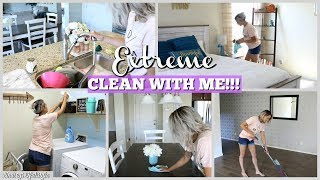 EXTREME ALL DAY CLEAN WITH ME 2018 | WHOLE HOUSE CLEANING | $300 TARGET GIFTCARD GIVEAWAY