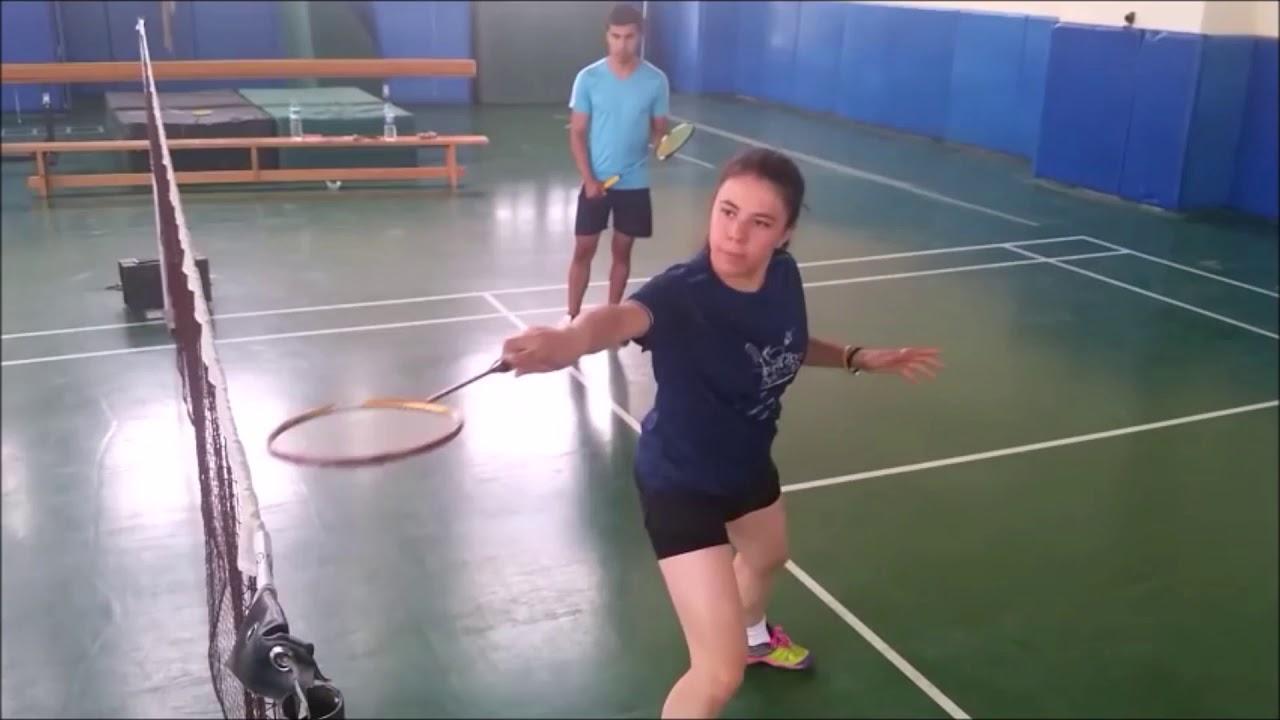 Badminton Temel Eğitim videosu   3