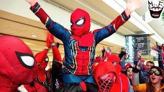 Spider-Man: SPIDER-VERSE MegaCon Invasion! Feat. Deadpool