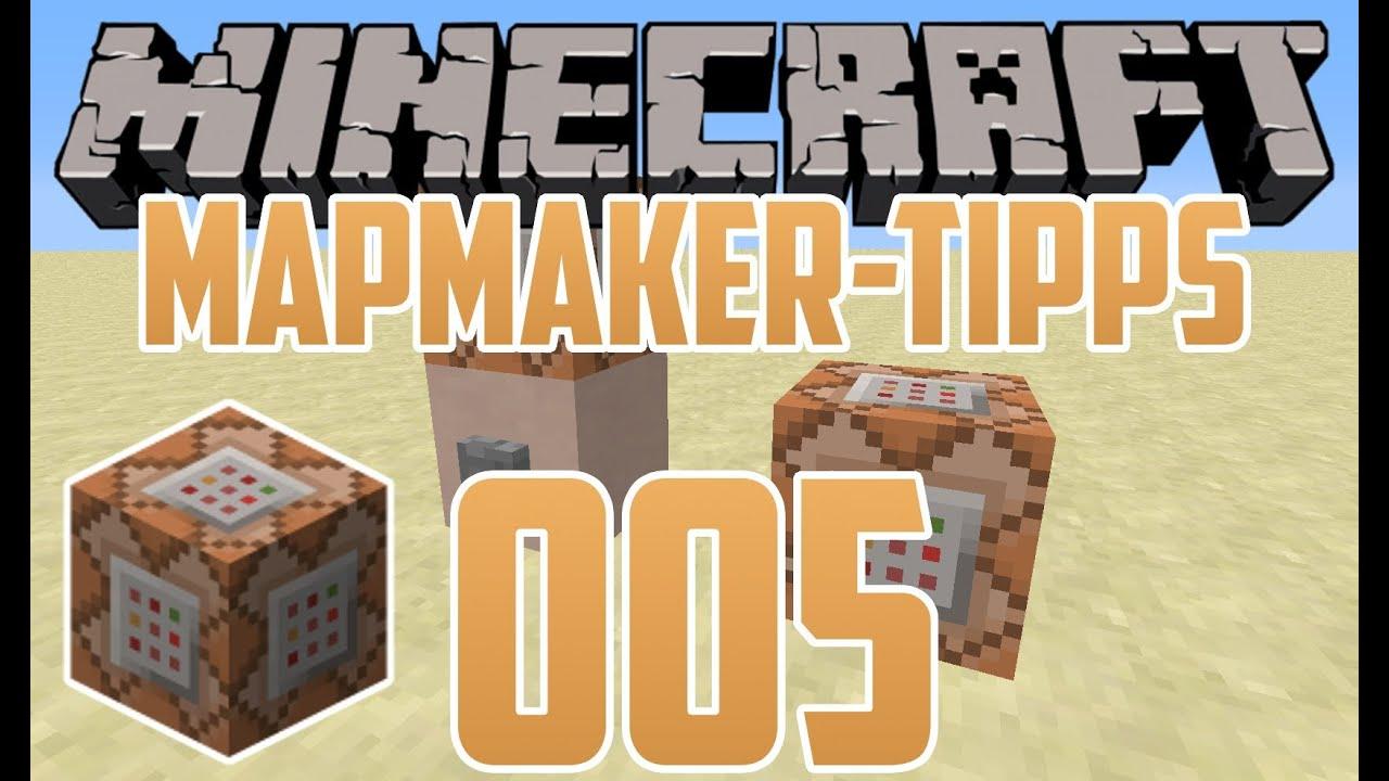 Minecraft MapmakerTipps Command Block Namen Schriftfarbe - Minecraft befehl namen andern