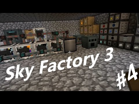Sky Factory 3 Let's Play Ep 4: Fully Automating Our Ore Syst