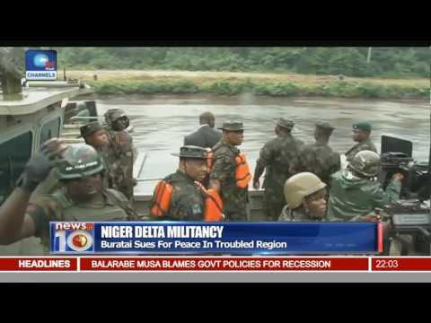 Niger Delta Militancy: Burutai Sues For Peace In Troubled Region