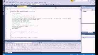C# tutorial to Insert,Fetch and Display data from DB to Datagrid