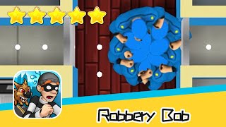 Robbery Bob™ - Level Eight AB - Extras 02-04 Walkthrough New Game Plus Recommend index five stars