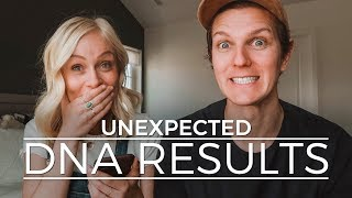 OUR DNA RESULTS: NOT WHAT WE EXPECTED