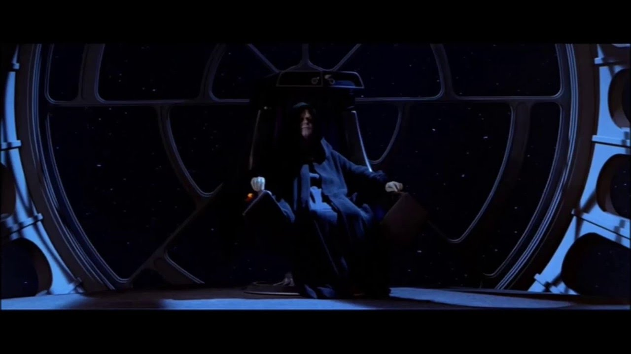 Star Wars VI - Return of the Jedi - The Emperor's Throne ...