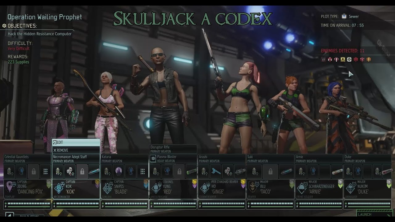 Skulljacking A Codex Xcom2 Wotc Commander Difficulty With Lots Of