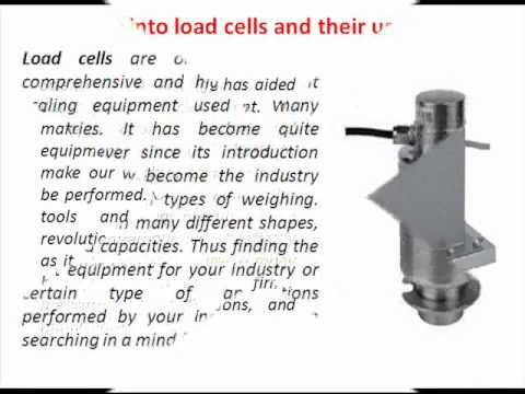 An Insight Into Load Cells And Their Uses Wmv