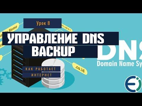 08  Остальные возможности Backup, управление DNS, Cron, статистика