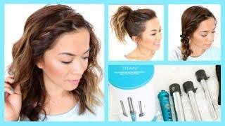 3 Easy Summer Hairstyles for Short Hair ♡ ThatsHeart Thumbnail