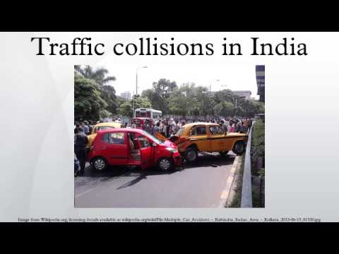 Traffic collisions in India