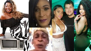 Pamputtae Takes Selfie With Barbara's Microwave |Curvy Diva 'Robbed' In Chyna