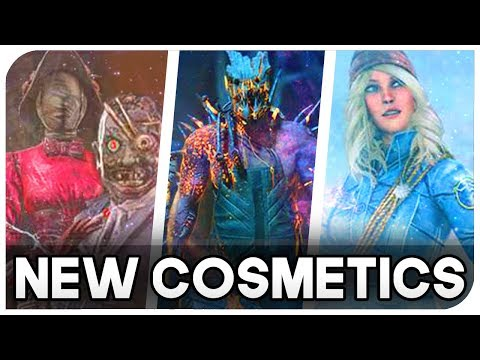 Dead By Daylight - *New Cosmetics* Nurse, Hillbilly, Huntress, Trapper, Wraith Cosmetics & more! streaming vf