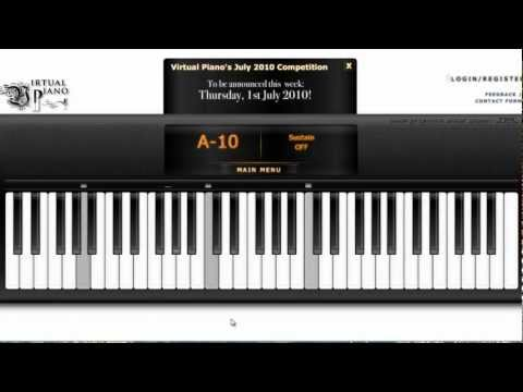 [ Virtual Piano ] Nhật Ký Của Mẹ With Auto Keyborad