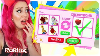 I Accepted EVERY Trade In Adopt Me for 24 Hours! Adopt Me Roblox Trading Challenge