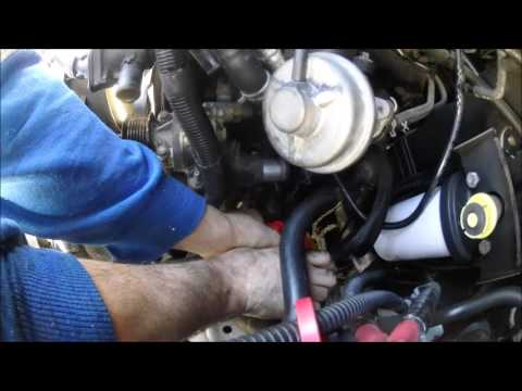 Ford F150 Fuel Pump >> 2005 Ford Transit Water Pump Replacement - How to. - YouTube