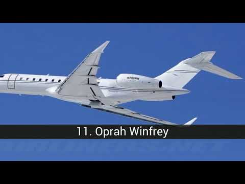 The best private jets of famous people
