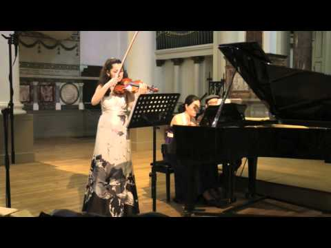 Grieg, Sonata for Violin and Piano No.3 in C minor, Ani Batikian (part 2)