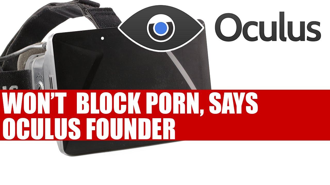 Oculus Rift Wont Block Porn, Says Founder Palmer Luckey -2049