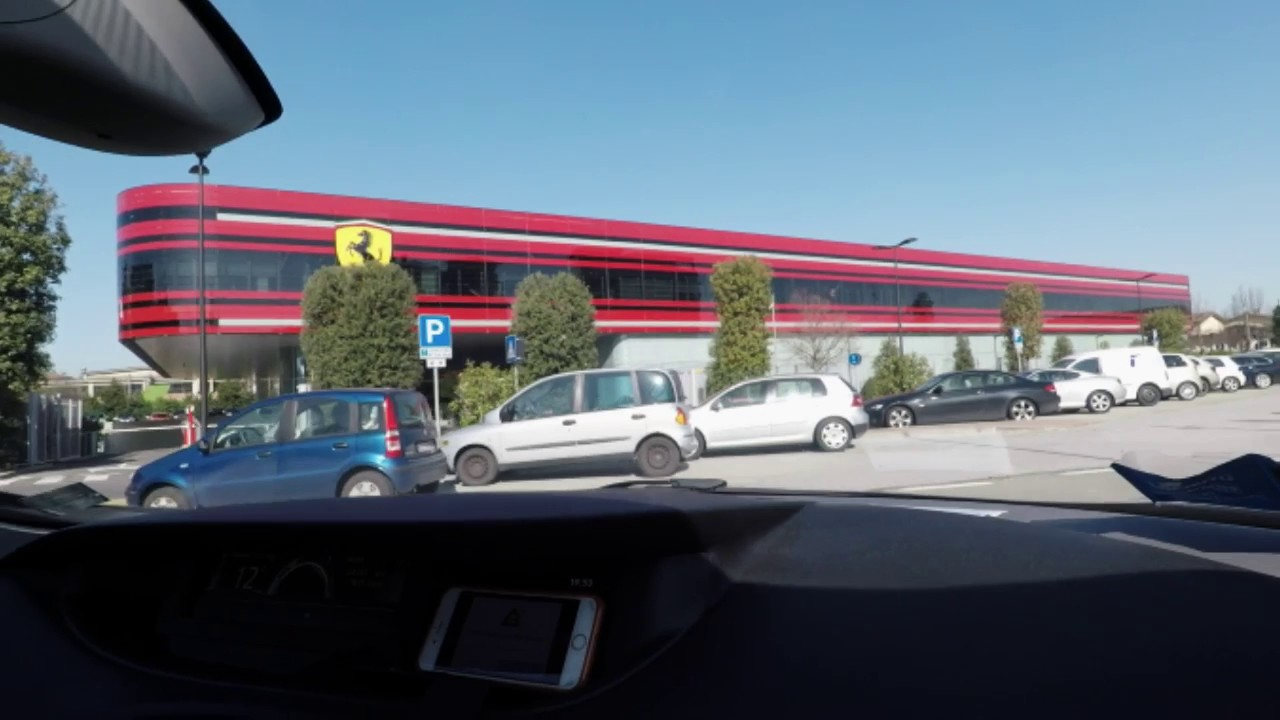 Ferrari Factory Museum Tour Maranello Italy 2017